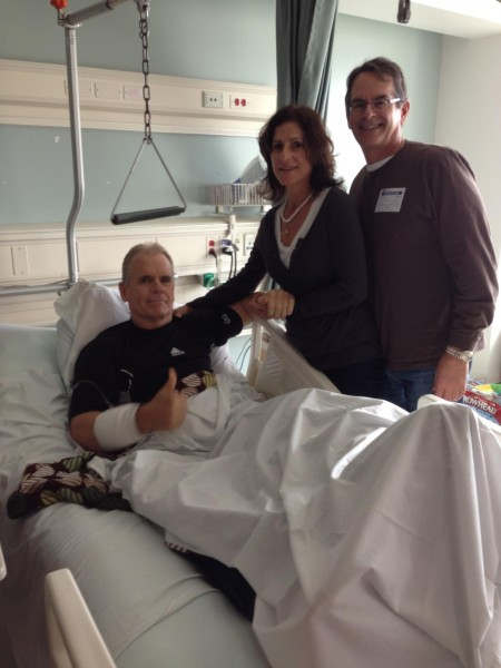 John is feeling even better! Largo with Mr. & Mrs. Roccomazzo -