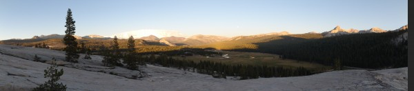 Tuolumne Sunset