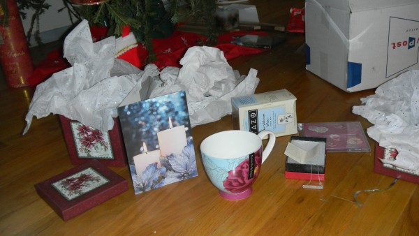 And the bountiful pile of presents!