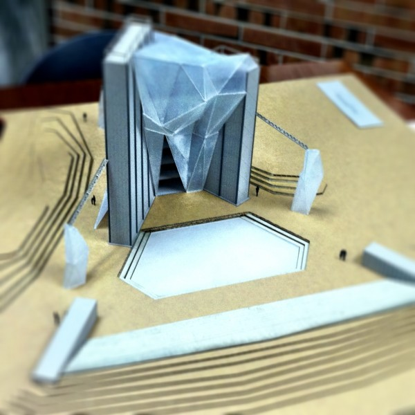 Model of the Fortress....