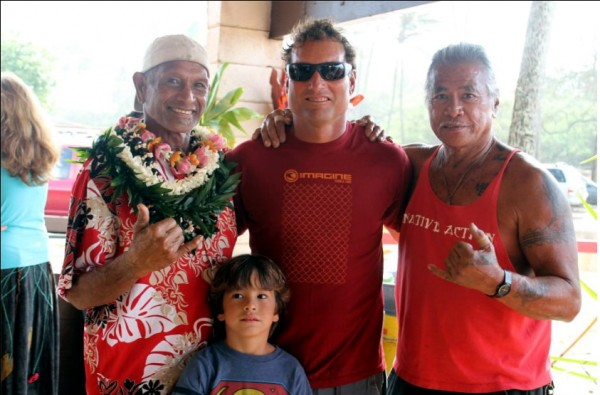 &quot;Tribal Elders&quot; Dave Kalama, ILima Kalama,Uncle Dougie <br/>