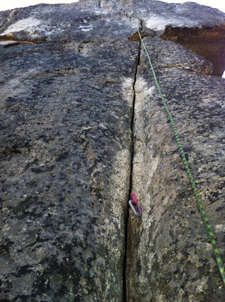 Shake and Bake 5.10d Sonora Pass