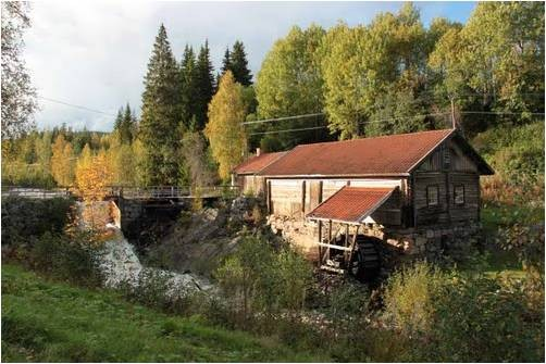 R&ouml;jdafors mill, &Ouml;stmark