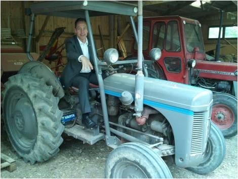 Tractor club in Östmark: Svenska Grålle klubben