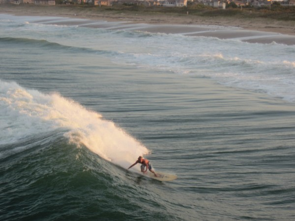 Don't forget about the East Coast! Hurricane swell in NC