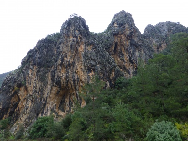 The Cave is on the bottom left. The climbing was kinda lame, but the f...
