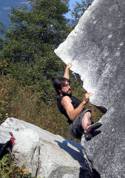 Anyone remember Lisa Dumper on the cover of the bouldering guide? Of c...