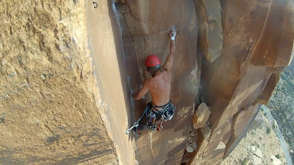Unnamed 5.11 at Indian Creek
