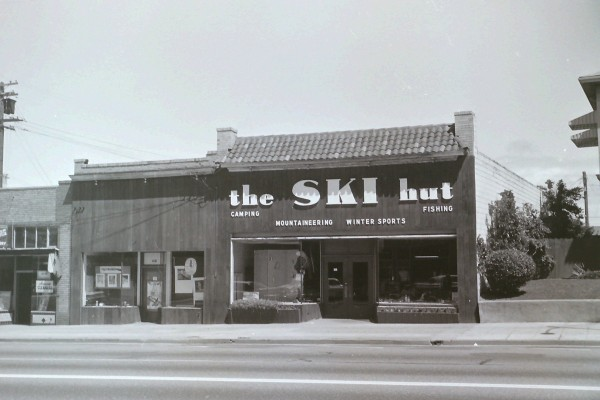 The Ski Hut in 1960-61