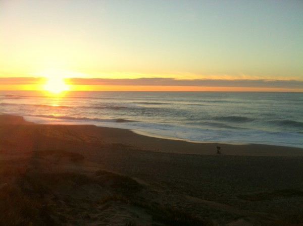 North Beach Sunset, Point Reyes, CA