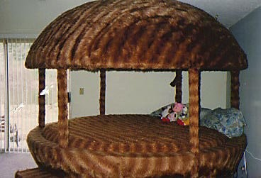 the infamous furry mushroom bed