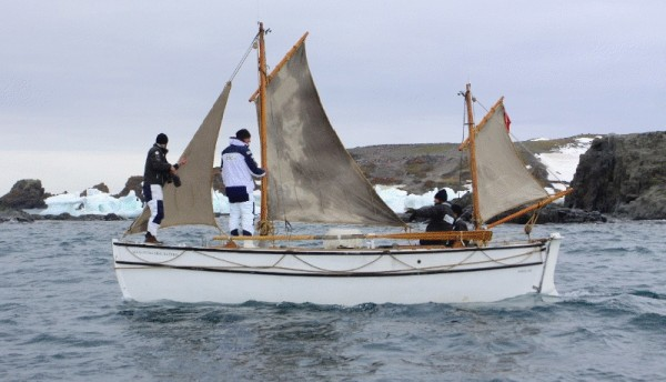 James Caird replica.
