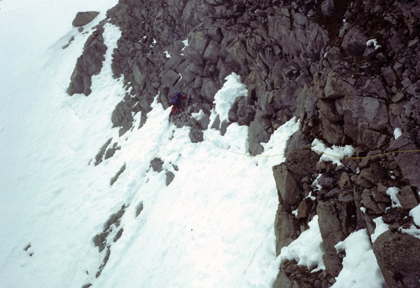 Attempt on new route on Denali, 1983