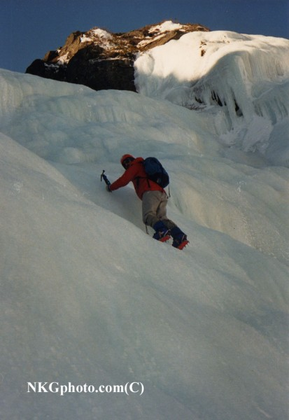 Odels Gully 1986 Photo by Jud Thurston.