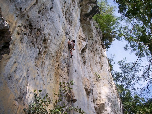 Jano nearing the top