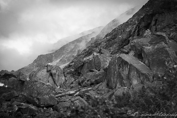 Boulders on the Chilkoot trail