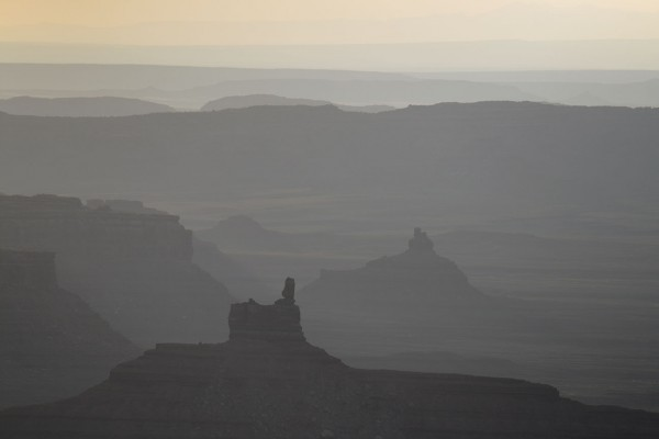 Valley of the Gods, dawn. Formation in front is now officially renamed...
