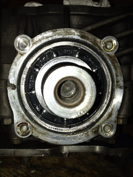 PTO bearing looks good!