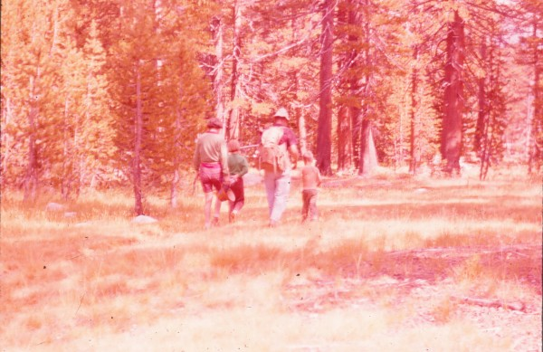Headed back to camp from the TM store.  Ca. 1962.  Popsicles were a di...
