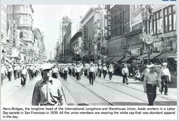 SF Harry Bridges march 1939