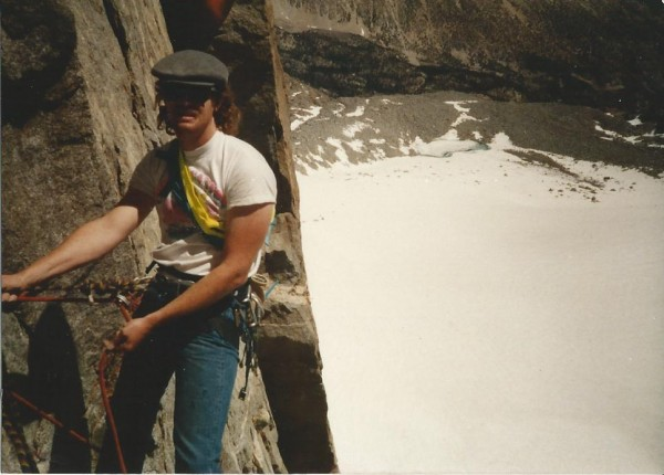 North Pal, Northeast Buttress, mid 80's