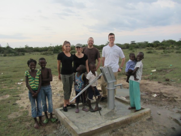 The well pumps at 6gpm by hand, 20 with the electric pump. Everything ...