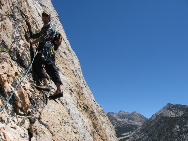 My buddy Pete during an ascent of Charlotte Dome in 2008--Great times!