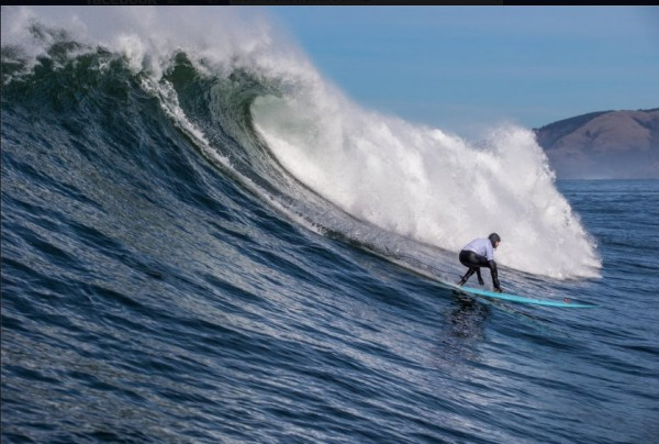From Surfer Magazine <br/> Off the coast of Oregon the Nelscott Reef Big W...