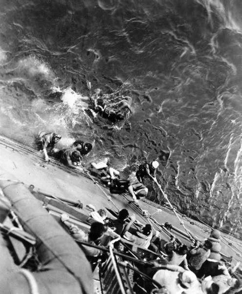 USS Lexington Survivors (Battle of Coral Sea).