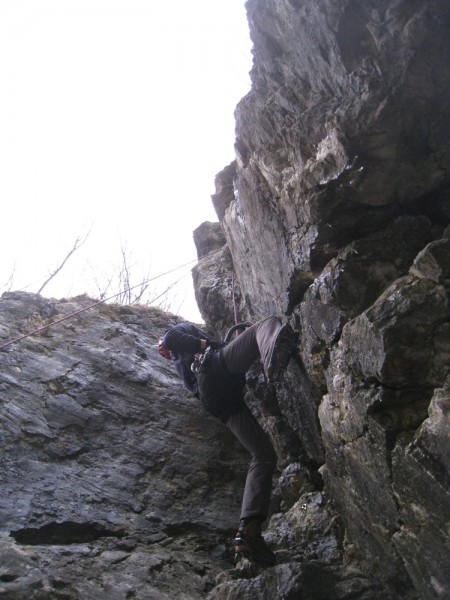 Borut nearing the top of Minutka za zdravje (D6)