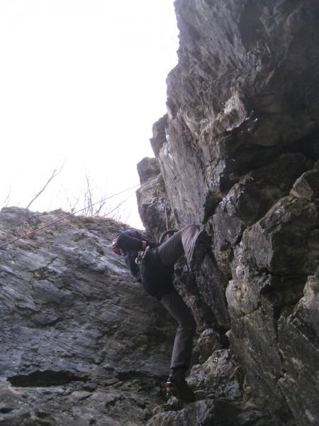 Borut nearing the top of Minutka za zdravje (D6)