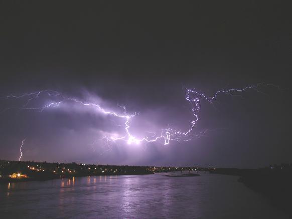 Summer storm in Saskatoon