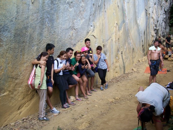 The Cebu City climbers at the end of a successful adventure...half of ...