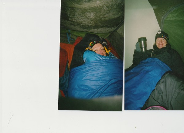 Glacier NP, got really cold. Then I got warm.
