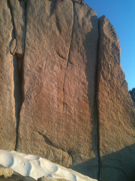 Power Wall Crack, Tuolumne