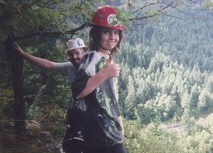 Noah my son after the Beacon Rock climb.