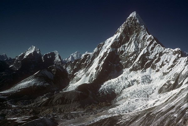 Ama Dablam in 1961 by Barry Bishop