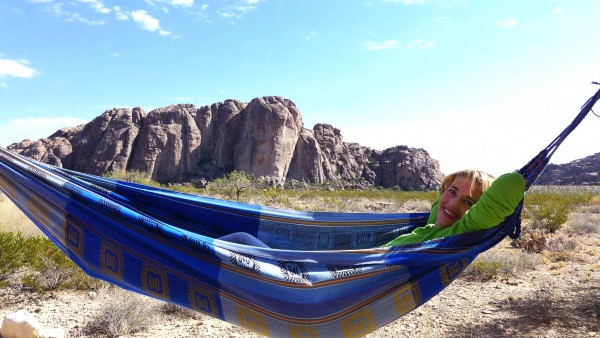 The Hueco life, and future wife.