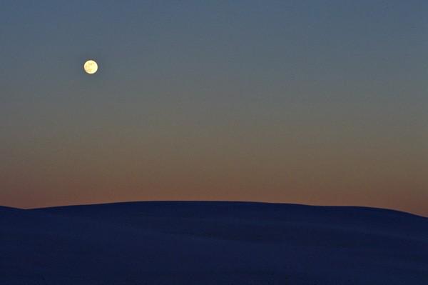 Dawn. White Sands NM, New Mexico.