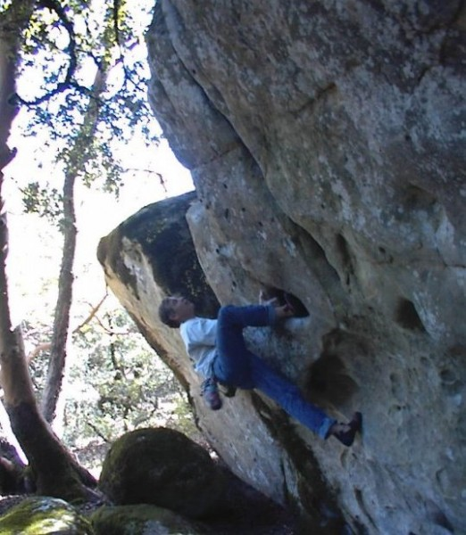 Mike Arechiga on, Devil Baby Traverse V4.