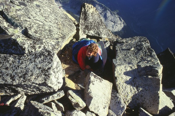 No, he wasn't an El Cap climber. And no, you Californians couldn't hav...