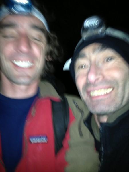 after climbing
