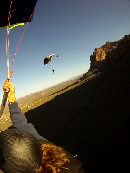 watching the sunrise after falling off the superstition mountains az