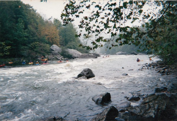 Gauley River,WV,yeah thats me getting worked