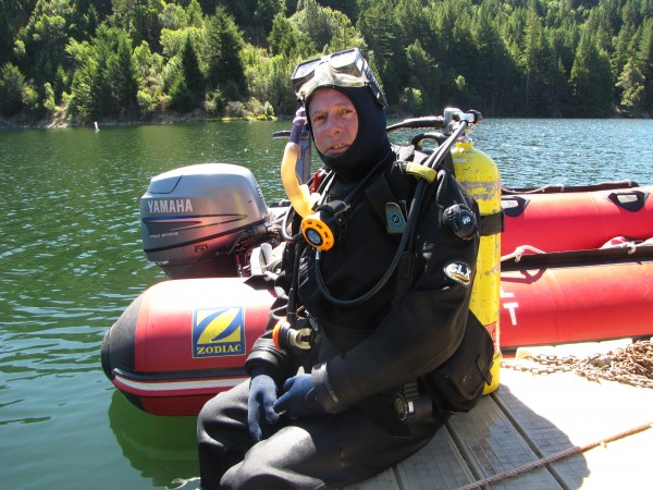 TomC as safety diver/videographer