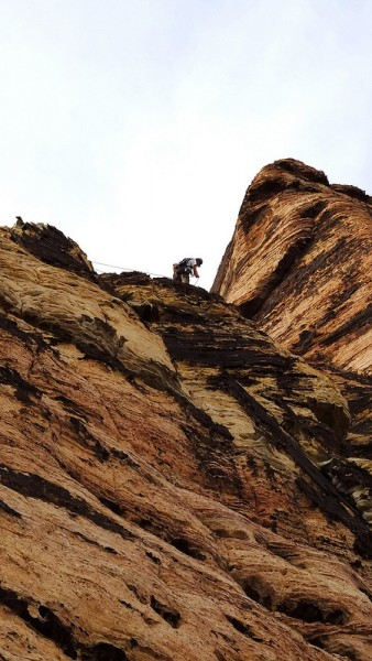 Big Mike on Second pitch of Geronimo last week.