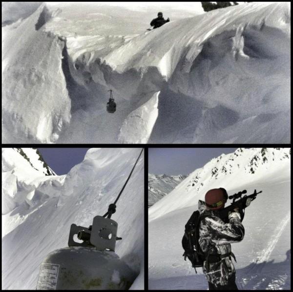 Avalanche control... not gun control!