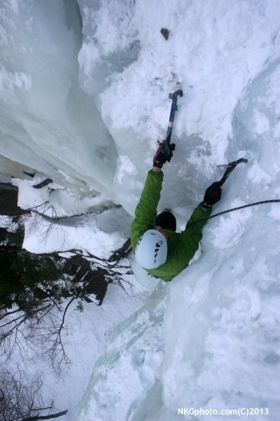 Ed Esmonds topping out on Dracula