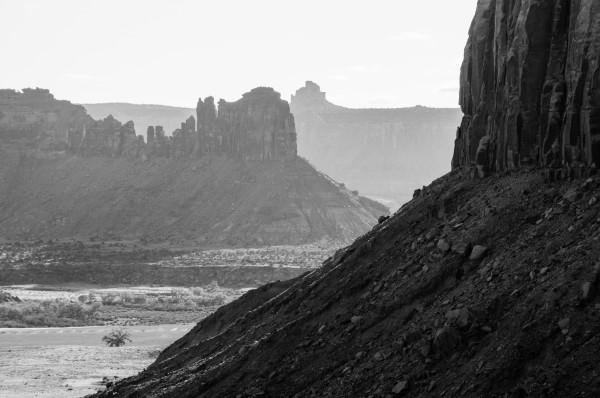 The Bridger Jacks from afar. Photo by Braden Gunem