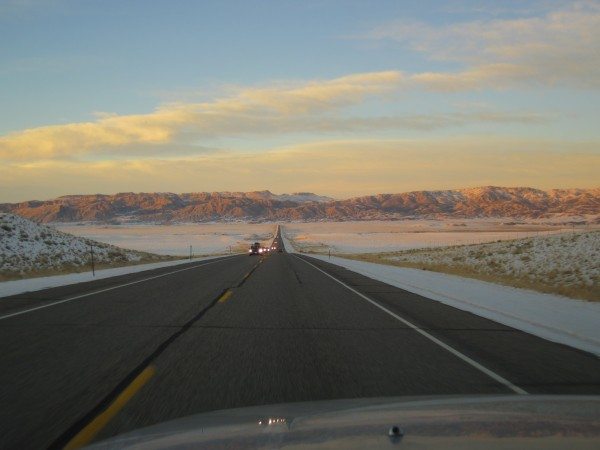 It was almost mid-afternoon when we had stopped to look at Utah's Brid...